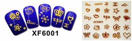 Wholesale Japan Manicure Wholesale - Free shipping Fashion japan South Korea style 3D Design cute DIY watermark Tip Nail Art Nail Sticker Nails Decal Manicure nail tools