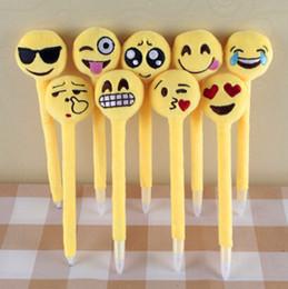 100 pcs 20 cm Emoji Plush Stylos Mignon Emoji Amusement Jouets Beaux cadeaux pour filles Enfants Mignon Prmotion Cadeaux EMJ012 ? partir de fabricateur