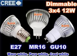 Livraison gratuite haute puissance CREE Led Lampe 9 W 12 W 15 W Dimmable GU10 MR16 E27 E14 GU5.3 B22 Led spot Spotlight led ampoule downlight éclairage ? partir de fabricateur