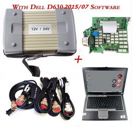 Wholesale Das C3 - 2017 Top VXDIAG New Obd2 Scanner Mb Star C3 For Mercedes Cars And Trucks +D630 Laptop Das xentry V2015.07 Hdd 12 24v full cables