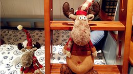 Wholesale United Toys - Europe and the United States selling 2017 High quality 46cm Large Creative Christmas ELK Deer Christmas Dolls Christmas decoration gifts