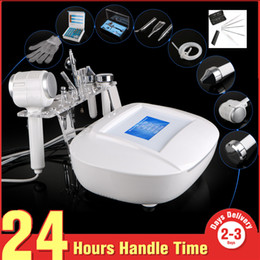 Wholesale Bio Magic Gloves - 6 in 1 Microdemabrasion Ultrasonic Peeling Skin Scrubber Bio Magic Glove Beauty Machine With A Gift NA06