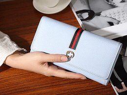 Wholesale Bamboo Long - The new 2017 European and American wallet lady long fashion simple wallet lady's wallet handbag