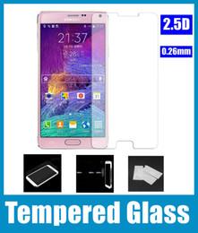 0.26 мм передняя ясно закаленное стекло пленка протектор экрана для Samsung Galaxy S6 edge S3 S4 S5 mini Note 3 2 note4 SSC026 от