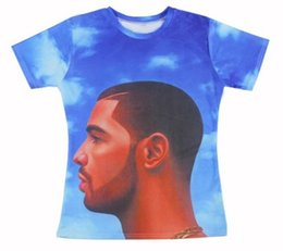 Wholesale Couples Same T Shirt - 2015 New Styles Drake Nothing Was the Same Women Men T-shirt Unisex Tees Couples T shirt 3D All Over Print Tops Casual Shirt #8150