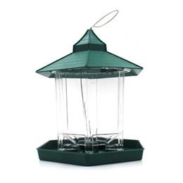 Wholesale Wild Birds - European Style Wild Bird Feeder Outdoor Bird Feeders Food Container Hanging Gazebo Bird Feeder Perfect For Garden Decoration