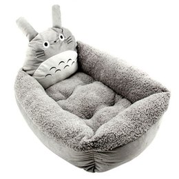 Wholesale Cotton Cat Houses - Hot Cartoon My Neighbor Totoro Warm Pet Dog Kennel Nest House Dog Cat Sofa Bed Mat free shipping