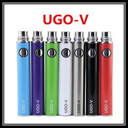 Wholesale Ego V Passthrough - Colorful UGO-V Battery 650 900mAH EVOD USB Passthrough Styled Ecig Battery Vape with Micro USB 5 Pin Charging Fit eGo 510 Thread Atomizers