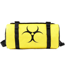 Wholesale Women Zone - The Division duffel bag Dark zone black yellow tote Tom clancy backpack Game luggage Sport shoulder duffle Outdoor sling pack