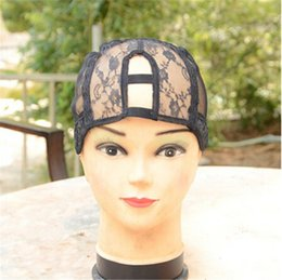 Wholesale Wholesale U Part Wig Caps - Small Medium Large Adjustable Strap Middle Parting U Part Wig Cap