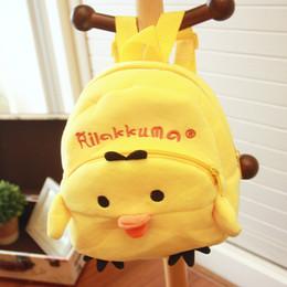 Wholesale Korean Kids White Backpacks - Korean cute little baby infant Plush Toy Bag Backpack backpack girl nubao children early education park