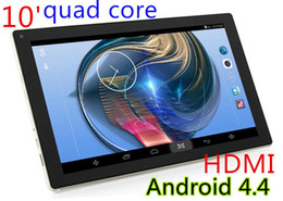Wholesale New Slim Camera - NEW 10inch A31S Google quad core tablet PC 10inch Android 4.4 Tablet pc 1G RAM 8GB 16GB 32GB ROM bluetooth HDMI dual camera 5500mah battery