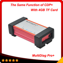 Wholesale Carton Design - 2015 New designed TCS CDP+ Multidiag pro+ 2014.2 version no bluetooth with 4GB TF card + carton box free shipping
