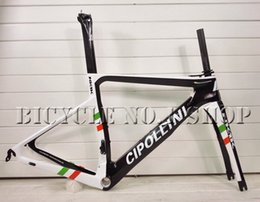 Wholesale Flag Frame - 2018 NEW T1000 MCipollini NK1K Cipollini italy flag full carbon road bike frame racing bicycle frameset size XXS XS S M L taiwan frames