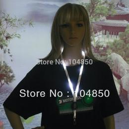 Wholesale Nylon Ego Lanyards - Wholesale-2pcs lot LED ego lanyard nylon webbing necklace