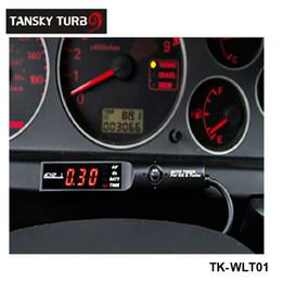 Wholesale Car Gauge Lights - Tansky - High Quality APEX* Turbo timers for car black,light color is red Original color box TK-WLT01