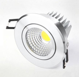 CREE haute puissance 10W / 15W / 25W COB LED Dimmable downlight LED plafonnier LED Encastré Spot ? partir de fabricateur