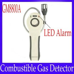 Wholesale Digital Combustible Gas - Digital combustible gas probe GM8800A with LED alarm indication 2pcs lot free shipping
