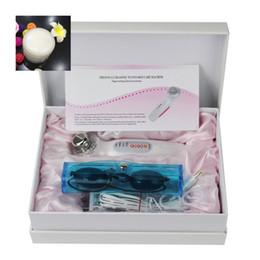 Máquina de arrugas de mano online-Mini ultrasónico LED Light Photon Machine Eliminar Arrugas Tratamiento del acné Rejuvenecimiento de la piel Lifting Handheld belleza Dispositivo + regalo