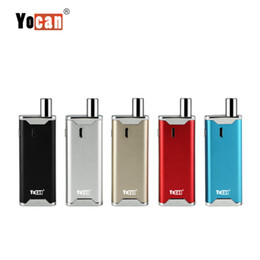 Wholesale plastic kit boxes - Original Yocan Hive 2.0 Vaporizer Kit 650mAh Variable Voltage Battery Box Mod Concentrate Wax Oil 2 in 1 Atomizer