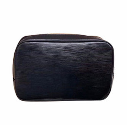 Wholesale Leather Travel Pouch Men - Quality AAAAA wash bags designer fashion men travel toilet pouch women cosmetic organizer make up bag famous classical brand toiletry bag