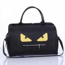 Wholesale Cartoon Luggage Bag - Little monster Sports bags travel bag outdoor gym sport handbag gym High capacity luggage bags folding travel bag