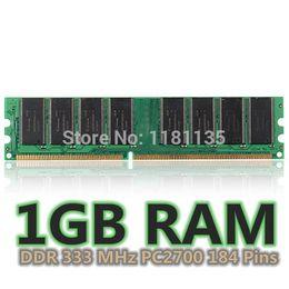 Wholesale Ddr 512mb Laptop - 1GB DDR333 MHz PC2700 Non-ECC Laptop Desktop PC DIMM Memory RAM 184 Pins New