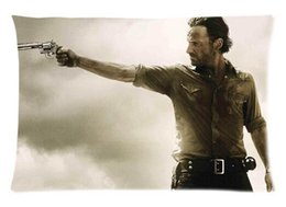 Wholesale Queen Show - Style 03 Hot Tv Show Walking Dead Custom for Queen Size 20 X 30 Inches Pillow Case