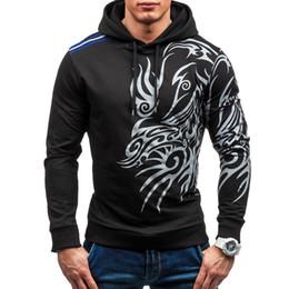 Wholesale mens slim hoodies wholesale - Wholesale- 2017 Hoodies Men Hombre Hip Hop Mens Brand Letter Hooded Zipper Hoodie Sweatshirt Slim Fit Men Hoody Large Size 3XL