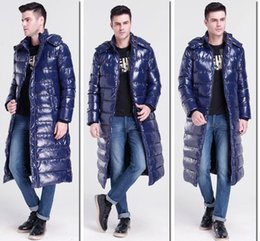 Wholesale Long Down Coat For Men - New Arrival Camo Men Thicken Warm Long Down Jacket White Duck Down Long Sleeves Outwear With Detachable Hooded Parka Winter Coats For Men