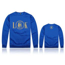 Wholesale Cotton Hoodies Leopard Sweatshirt Top - new style Last kings Sweatshirts Tops high quality o-neck hoodies Men pullover cotton coat sweaters sportswears