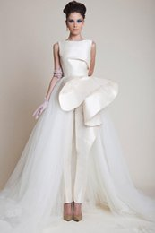 Wholesale New Celebrity Evening Gowns - 2014 New Fashion White Evening Dresses Jewel Neckline Sleeveless Pleat Long Organza Satin Formal Celebrity Gowns