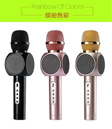 Wholesale Best Sing - Own factoy Offer E103 design karaoke microphones speaker magic microphone HANDLED MIC best quality singing songs conference player