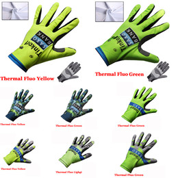 Wholesale Mtb Gloves - 2015 Tinkoff Saxo Bank cycling long finger gloves winter thermal fleece mountain bike gloves mtb bike riding sport wearing 8 style