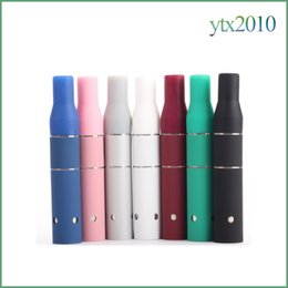 Wholesale Dry Herb G5 - AGO G5 Vaporizer Electronic Cigarettes Dry Herb Ago G5 Atomizer 510 Thread Clearomizer Ecigs Vape Match LCD Display Battery AGo G5