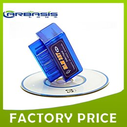 Wholesale Elm327 Fiat - Mini ELM327 V2.1 OBD2 Diagnostic Scanner tool support all obd protocls with free shpping,5pcs lot