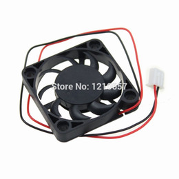Wholesale 4cm Fan - Wholesale- 5Pieces lot 40mm 4cm 40x7mm 4007 GDT DC 12V 2Pin Ventilation Cooling Fan