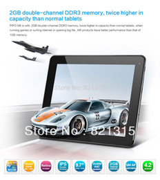 Wholesale Rk3188 Pipo - Wholesale-DHL Free shipping PIPO MAX M6 RK3188 Quad core 9.7inch Retina IPS Capacitive Screen Android 4.2 Tablet PC Bluetooth 2G RAM 16GB