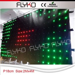 Wholesale China Led Curtain - Wholesale-starry sky dj led curtain screen free shipping on china market