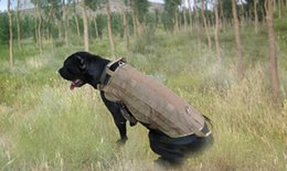 Wholesale Black Tactical Vests - Army Tactical Outdoor sport Clothes Load Bearing Harness SWAT Dog Molle Vests for Dog Training Harness
