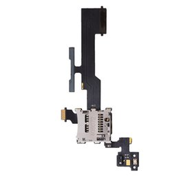 Wholesale Oem Micro Sd Card - OEM HTC One M8 2014 Micro SD Memory Card Reader Holder Slot Volume Button Flex Ribbon Cable