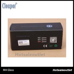 Wholesale Glass Tube Fittings - Cloupor Clear Pyrex Glass Tube M3 Glass Cover Fit For Cloupor Cloutank M3 Atomizer 100% Original