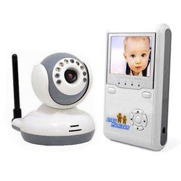 "Wholesale Security Camera Kits Monitors - Baby Monitor Kits 2.4GHz Wireless Digital Talk Device IR 2.4""LCD 2-Way Video Intercom Infant monitors Security Camera Night Vision"