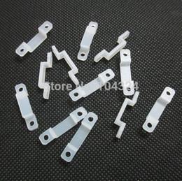 Wholesale Clip Strip Wholesale - 100pcs  lot Silicon led strip clip for fixing flexiable led strip 3528 5050 8mm 10mm 12mm,wholesale