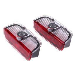 Wholesale Vw Passat Lamp - 2 pcs LED Door 3D shadow Car logo light Auto laser projector lamp for VW TIGUAN Golf MK6 JETTA MK5 PASSAT B6 B7