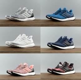Wholesale Outlet Women Shoes - 2017 Factory Outlet Best Quality Ultra Boost 3.0 4.0Primeknit Oreo CNY Blue grey Men Women Running Shoes ultraboost sport Sneaker 36-45