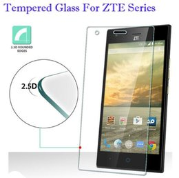Wholesale Screen L5 - For ZTE L7 Tempered Glass Screen Protector For ZTE V7 Lite A462 A570 A450 A452 V6 L5 V7 V580 Temper Glass Protecticve Film