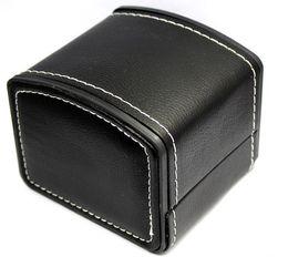 organizador de joyas princesa Rebajas Nueva caja de vitrinas de almacenamiento de reloj de cuero de la PU cajas de regalo de lujo 11 * 11cm