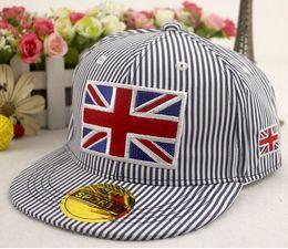 Wholesale Wholesale Snap Back Cap Hiphop - New Kids Snap back Hat Caps Children's Boys Baseball Cap Casual Hiphop Hats 20p l free shipping