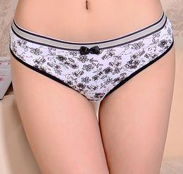 Wholesale Hot Pants Bikinis - 2015 new short pants Damenunterhosen cotton bikini brief sexy women underwear stretched lady panties hot lingerie intimate cotton underpants